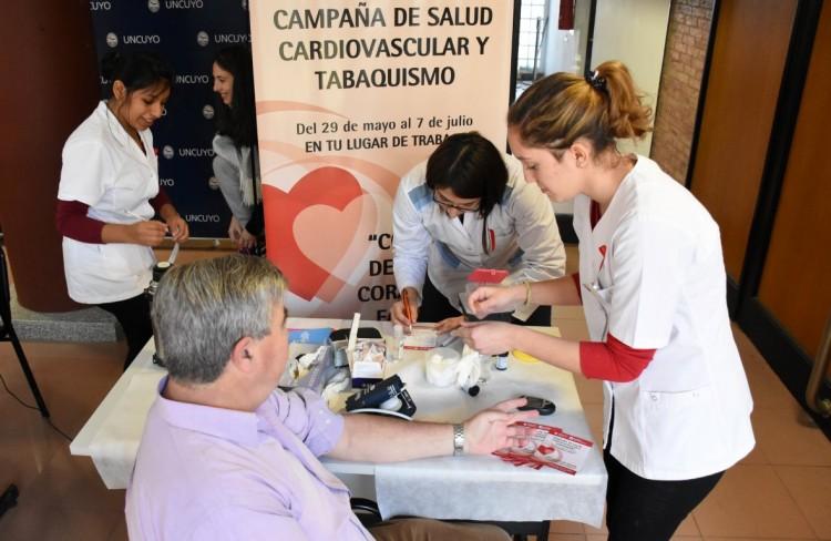 Jueves 15 de junio: Campaña de salud cardiovascular en la ECVA
