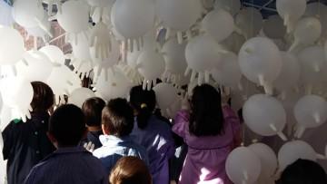 Nuestros alumnos de Sala de 4 y 5 disfrutaron de patios de juego artístico