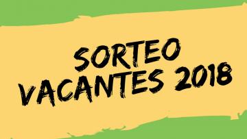 Inscripciones Sala de 4 años 2018