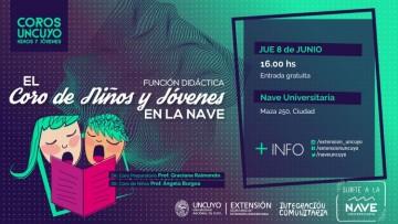 Invitan a concierto didáctico del Coro de Niños y Jóvenes
