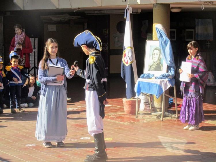 Acto homenaje a San Martín