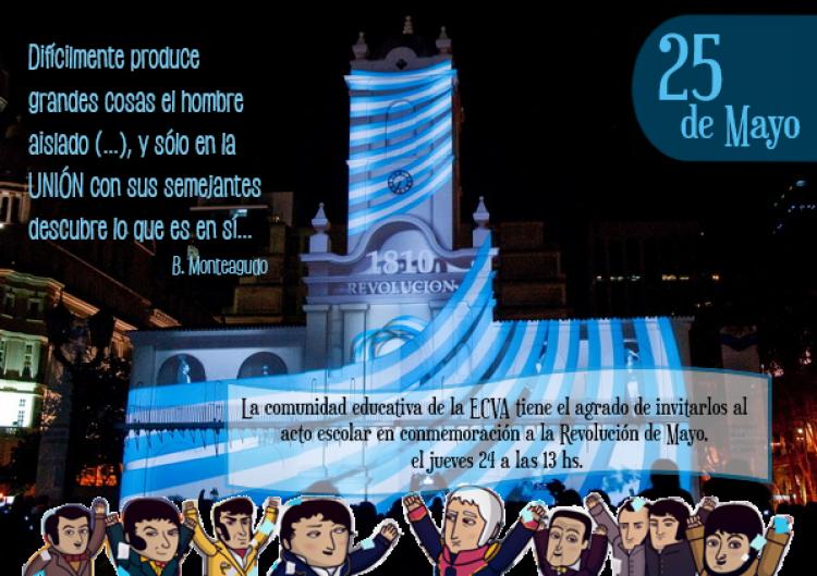 Conmemoración de la Revolución de Mayo