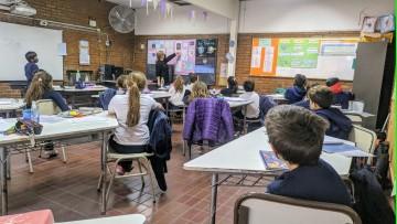La Escuela Carmen Vera Arenas volvió a la presencialidad plena