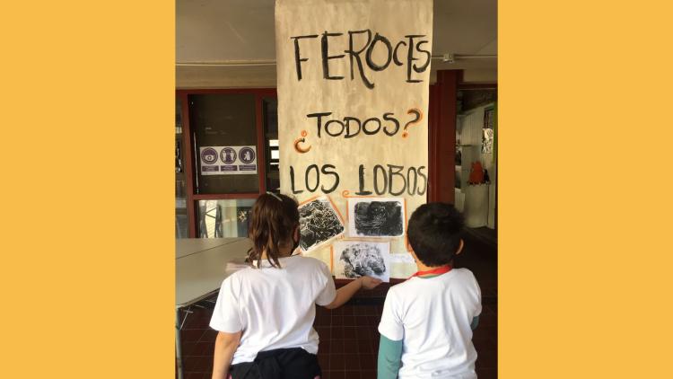 Estudiantes de segundo grado participaron de una experiencia literaria